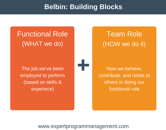 Belbin Team Roles: Building Blocks