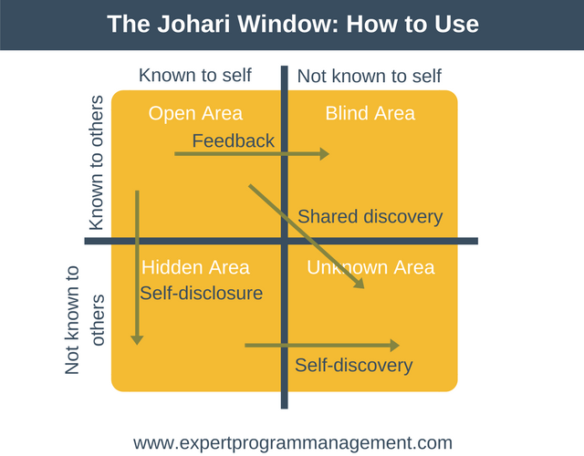 Johari Window- How to Use