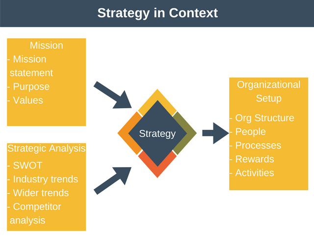 Strategy in Context of the Organization